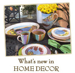 Whats New in Home Decor